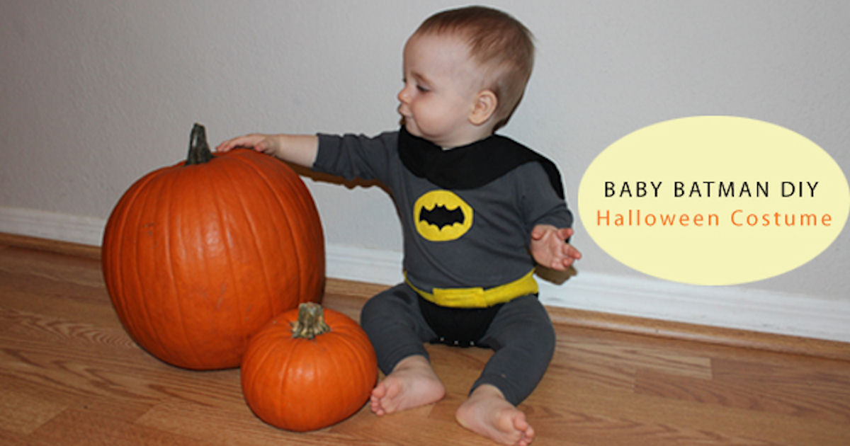 Diy baby batman halloween costume pictures photos and images for diy baby batman halloween costume pictures photos and images for facebook tumblr pinterest and twitter solutioingenieria Image collections