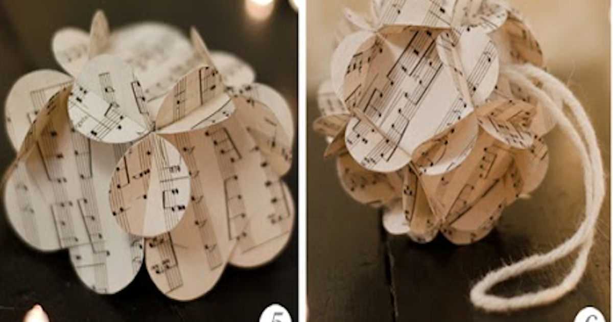 how to create a sphere from paper