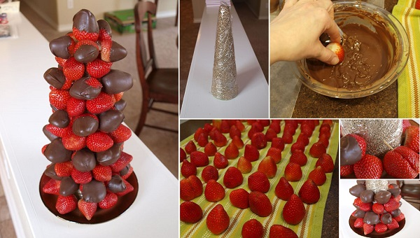 How Do I Make Chocolate Covered Strawberry Bouquet
