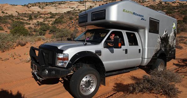 Earthroamer XV LTS Is A Truck With The Inside A Luxury
