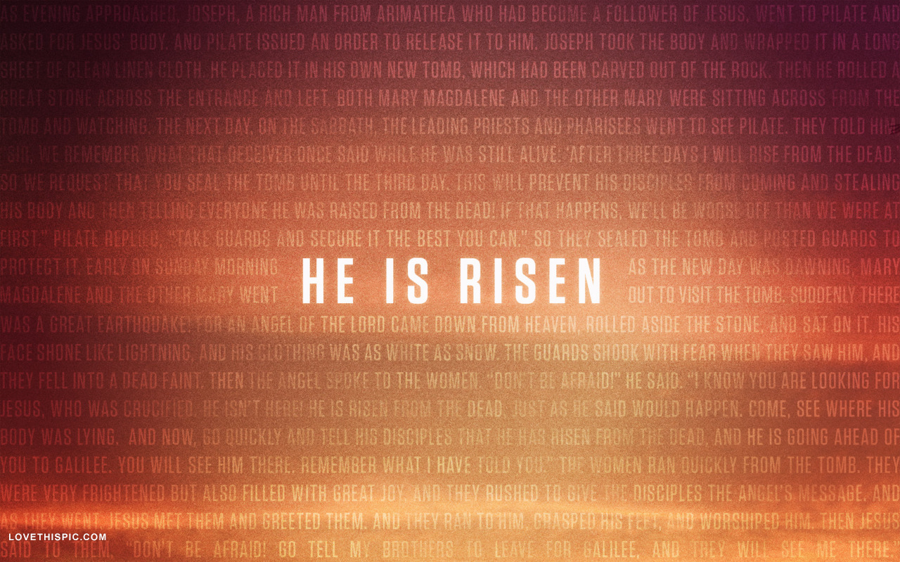 the risen what is - photo #10