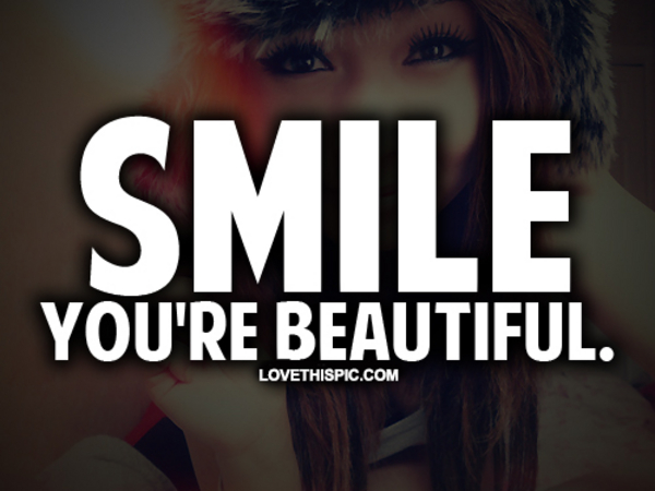 you have a beautiful smile quotes - photo #34