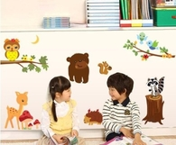 Animal Decals for kid's room