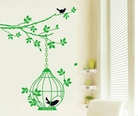 Green room decal designs