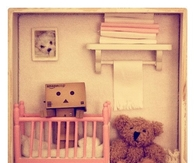 Cute Danbo Shadowbox