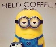 Minion I Need Coffee Meme