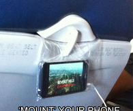 DIY Airplane TV