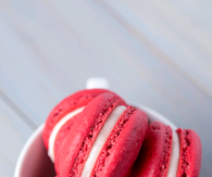 Red macaroons