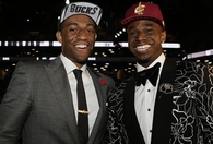 Andrew Wiggins 1st pick NBA draft 2014 with Jabari Parker 2nd pick