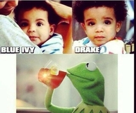 Blue Ivy and Drake