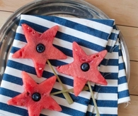 Patriotic Watermelon Stars