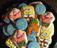Spongebob Squarepants Cookies