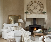 Cozy French Style Living Room