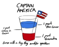Captain America Drink