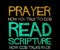 How God talks back