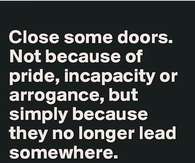 close some doors