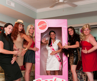 Barbie Inspired Bachelorette Party
