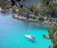 Saliara beach. Thassos. Greece