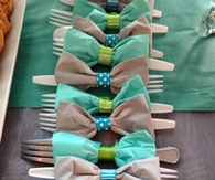 Bow Tie Table Setting