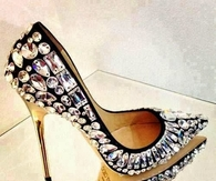 Rhinestone Stiletto