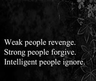 weak people revenge