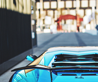 Blue Chrome LP760-4 Aventador Lamborghini