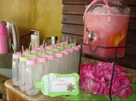 Baby Shower Bottle Refreshments