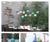 DIY Water Color Orbs