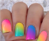 Colorful Summer Nails