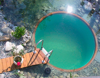 Perfect Circle Swimming Pool