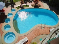 Footprint Swimming Pool
