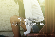 A girls biggest lie