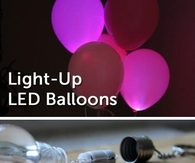 DIY LED Light Up Balloons