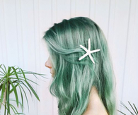Sea Green hair