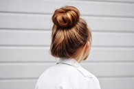 Chic hair bun