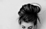 Simple messy bun