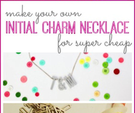 DIY Charm necklace
