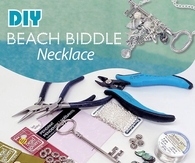 DIY Beach Biddle Necklace