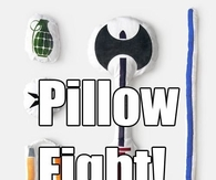 pillow fighting weapons