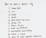 How to have a better day