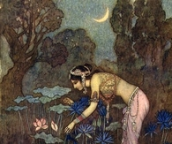 Sita finds Rama among the Lotus Blooms