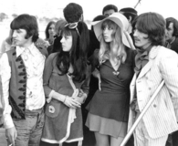 George , Ringo and girls