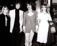 Cynthia, John, George & Pattie..Love this photo
