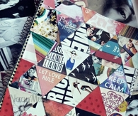 Notebook collage