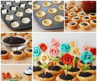 DIY Flower Pot Cookies Recipe