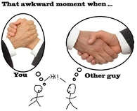 Here is another awkward moment