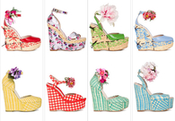 D&G Flower Wedges