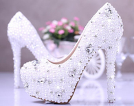 Wedding Heels with Bling