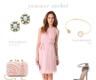 Dress to wear to wedding - Summer Sorbet