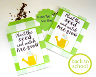 Seed packet idea